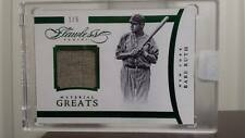 2016 FLAWLESS BABE RUTH MATERIAL GREATS 1/5  GAME WORN jersey relic YANKEES