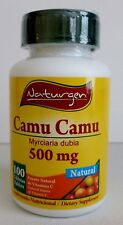 CAMU CAMU 500 MG 100% NATURAL (100 CAPSULES )