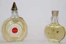 Lot of 2 Vintage Shalimar Guerlain Paris and L'Air du Temps Nina Ricci Perfume
