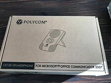 NEW Polycom CX100 SpeakerPhone For Microsoft Lync NIB