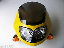 NEW FAIRING MOTORCYCLE HEADLIGHT STREETFIGHTER GS GSX ZXR GSF CBR ER YZF FZS CBF