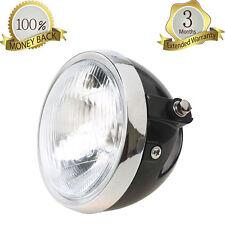 """6"""" Headlight Head Lamp High Low Beam For Honda CG125 Cafe Racer Bobber Cruiser"""