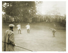 "4""x6"" PHOTO: FRANCIS OUIMET, HARRY VARDON, TED RAY 1913 US OPEN GOLF PLAYOFF TCC"
