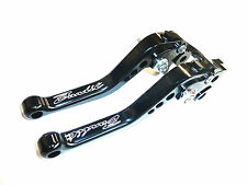 SUZUKI GSF 1250 650 BANDIT SHORT BLACK BRAKE & CLUTCH LEVERS ROAD TRACK TS131