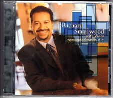 CD Richard Smallwood with Vision. Persuaded-Live in D.C. American Gospel. Nuevo.