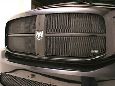 GrillCraft 2006-09 Dodge Ram 2500 3500 Black MX Mesh Grille Grill 4PC Insert