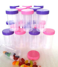 10 Pill Bottle Jars Doc McStuffins Party Favor Candy Container #4314 DecoJars US