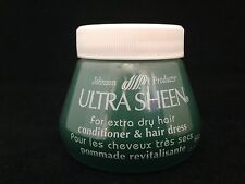 JOHNSON PRODUCTS ULTRA SHEEN FOR EXTRA DRY HAIR CONDITIONER & HAIR DRESS 2.25oz
