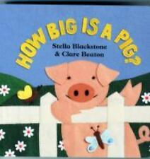 How Big Is a Pig? Barefoot Board Book)