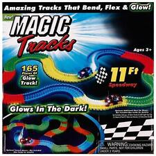 Newest Magic Tracks The Amazing Racetrack that Can Bend Flex Glow 11Ft Xmas Gift