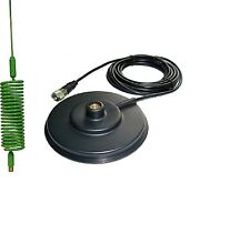 CB ANTENNA  SPRINGER GREEN + CB MAGNETIC MOUNT 12CM 3M CABLE
