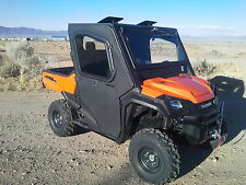 Honda Pioneer 1000 Cab Enclosure with Tip out Windshield & Full Suicide Doors