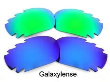 Galaxy Replacement Lenses For Oakley Jawbone Blue&Green Polarized 2Pairs