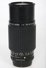 SMC Pentax - A, 70-210 f4 Telephoto Zoom Lens Pentax K Mount