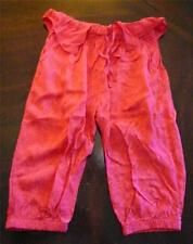 NWT Paper Wings Girl Bloom Heart Paisley 3/4 Bloomers Red Size  6 8 Capri Pants
