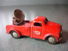 RARE Old Vtg Antique ABA Friction Pick Up Truck Toy With Spotlight Made In Japan