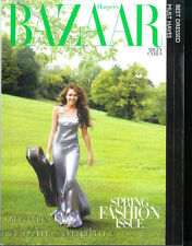 MILEY CYRUS cover/article/full page photos 2010 Harpers Bazaar