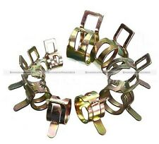 60pcs 6 Sizes Vacuum Spring Fuel Oil Water Hose Clip Pipe Tube Band Clamp