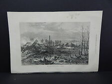 Illustrated London News Full-Page S7#007 Aug1871 Gun-Cotton Scene At Stowmarket