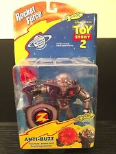 DISNEY PIXAR TOY STORY 2 ANTI-BUZZ ATOMIC ARM ROCKET FORCE BUZZ LIGHTYEAR WOODY