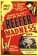 REEFER MADNESS MOVIE POSTER PRINT NEW 24X36 FREE SHIPPING