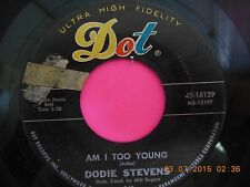 Dodie Stevens-Am I Too Young/So Let's Dance