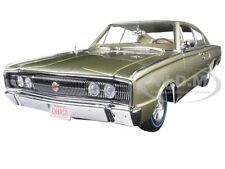 BoxDent 1966 DODGE CHARGER 426 GOLD 1002pc 50th ANNIV. 1/18 AUTOWORLD AMM1067
