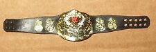 Smoking Skull Title Belt for WWE Mattel Elite Wrestling Figures WWF Steve Austin