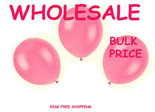 "300 plain 10"" Party baloons Choose  Ballons  christening colours Latex Balloons"