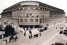 EBBETS FIELD CLASSIC OUTSIDE MAIN STADIUM ENTRANCE BROOKLYN DODGERS HOME