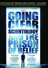 GOING CLEAR: SCIENTOLOGY & THE PRISON OF BELIEF - DVD - Region Free - Sealed