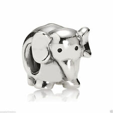 Authentic  Pandora 790480 Sterling Silver Charm Elephant Bag Included