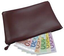 XXL BANKTASCHE BANKMAPPE GELDMAPPE GELDTASCHE BÖRSE BANK ETUI BORDEAUX