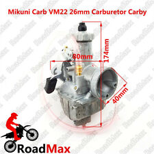 Orginal Mikuni VM22 26mm Carb Carburetor 125cc 140cc Pit Dirt Bike Motorcycle