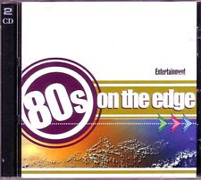 80s on Edge ENTERTAINMENT 2CD Classic Rock CULTURE CLUB SIMPLE MINDS NAKED EYES