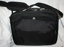 Dell Laptop Black Canvas Shoulder Strap Messenger Bag