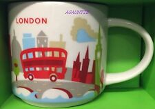 New With Box Starbucks Coffee You Are Here (England City) LONDON 14oz. Mug Cup