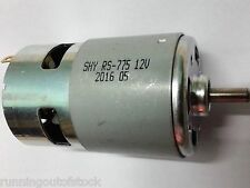 RS 775 High Torque DC 12V Multipurpose Brushed Motor, Bigger motor