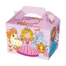 9 Princess Party Boxes - Food Loot Lunch Cardboard Gift Kids weight takeaway
