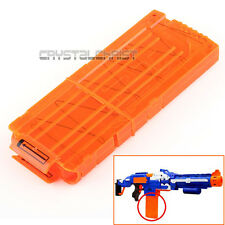 12 Dart Quick Reload Clip System Darts for Toy Gun Nerf N-Strike Blaster