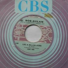 BOB DYLAN Like a rolling stone VG++ CANADA VERY RARE Hall of Fame CBS 45