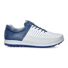 Ecco Mens Biom Hybrid 2 Golf Shoes Concrete/D Blue Size 41 (UK 7.5)