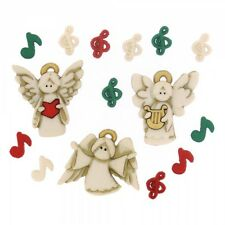 Dress it up buttons **A Choir of Angels** great  for cards and crafts