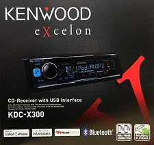 NEW KENWOOD EXCELON KDC-X300 CAR STEREO CD PLAYER WITH BLUETOOTH