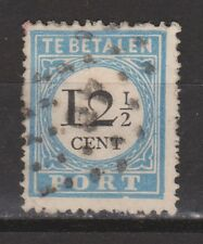 A3P8 Port nr.8 tanding A type 3 stempel HAARLEM (46) used NVPH Nederland due