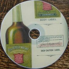 Vintage WHISKEY WHISKY distillery malt Scotch History Research 21 Books DVD
