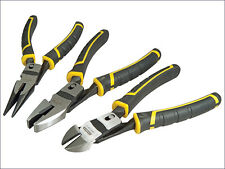 Stanley STA072415 FatMax Compound Action Pliers Set of 3 FMHT0-72415 New