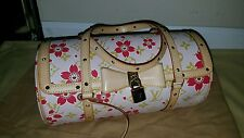 My poupette AUTH LOUIS VUITTON PEACH CHERRY BLOSSOM PAPILLON MINT CONDITION