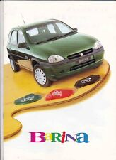 1997 HOLDEN SB BARINA Australian Brochure Like OPEL CORSA SWING CITY GSi