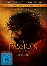 THE PASSION OF CHRIST - Limited Edition Mediabook - Blu Ray / Dvd - 4 Discs -